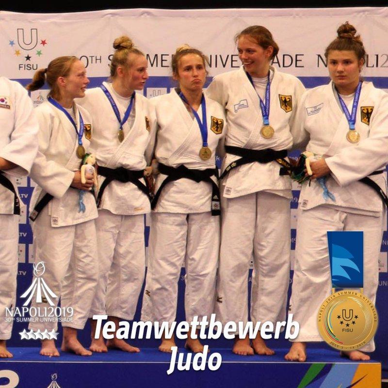 Renée gewinnt Bronze mit dem deutschen Team
