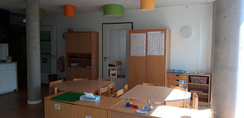 Gruppenraum Elementarbereich