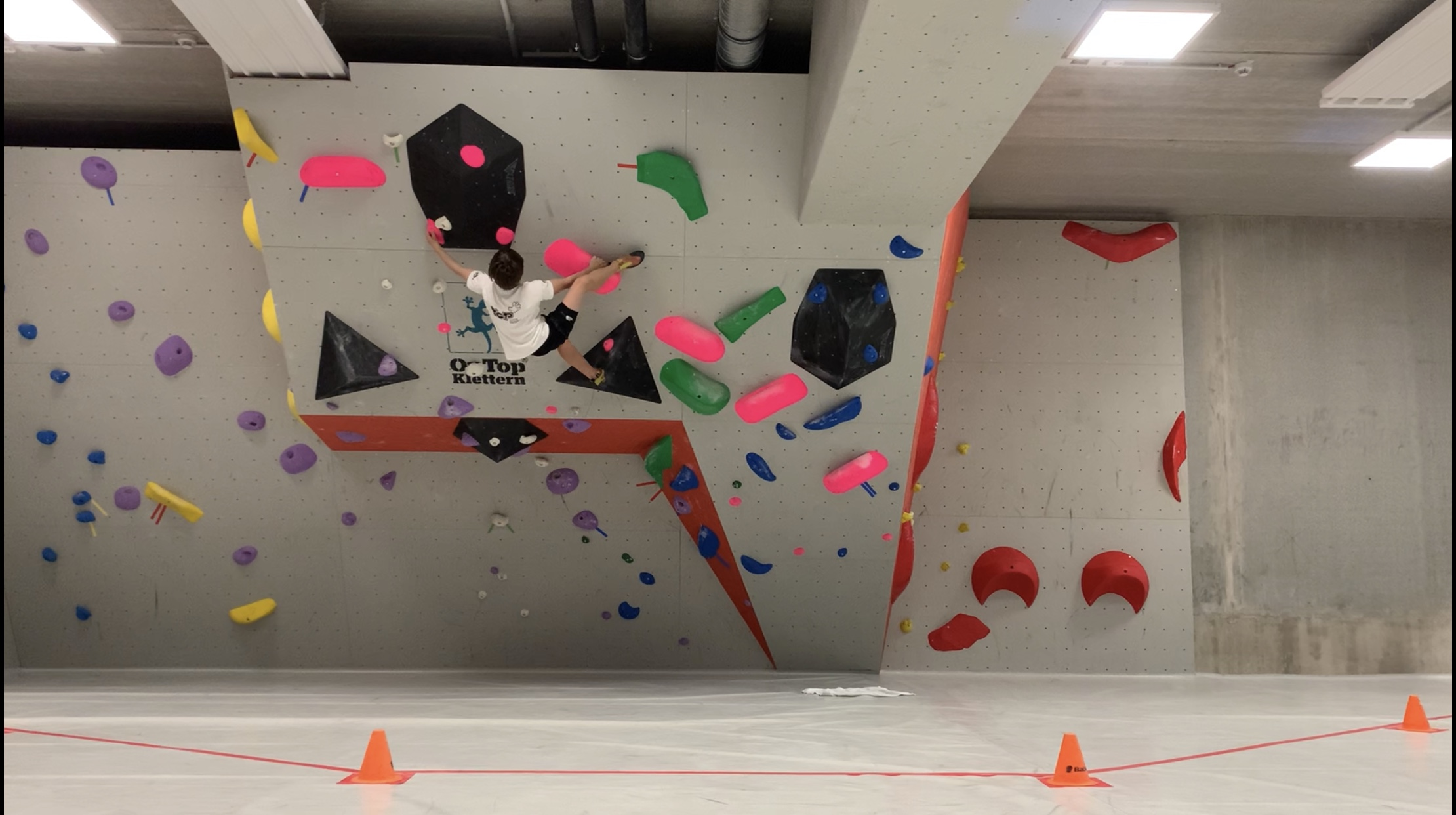 Technik Grundkurs Klettern/Bouldern